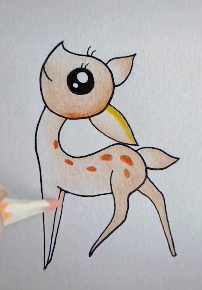 1001 Idees De Dessin Au Crayon Pour S Inspirer Comment Dessiner Un Chat Dessin Dessins Faciles