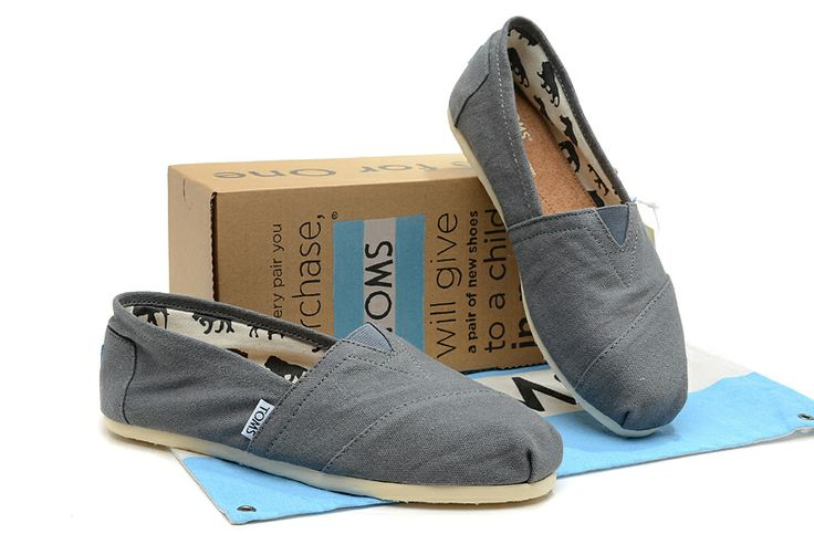 I wish I could buy every pair of TOMS SHOES! These are one pair of my favorite TOMS shoes.$17