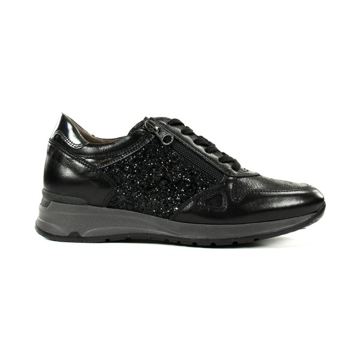 stijlvolle Nero giardini Sneakers & gympen 16050 Zwart combi