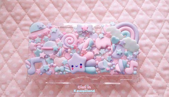 Lilac galaxy case Nintendo DSLite / 3DS / 3DS XL