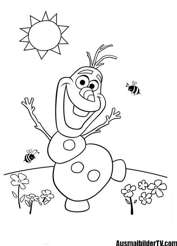 Ausmalbilder Olaf Ausmalbilder Ausmalbilder Kinder Olaf Ausmalbild