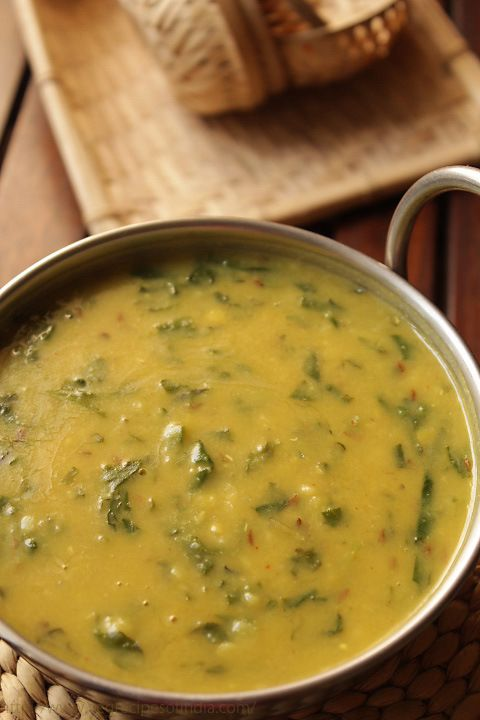 Palak dal- added 1tbsp garlic ginger paste, frozen spinach instead of fresh that I microwaved for a few seconds. Also added a chicken buillon cube when I was letting the dal boil. During tarka I added 3 dried curry leaves.