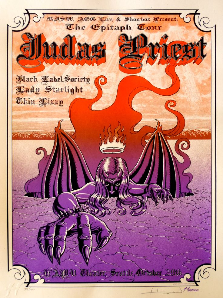 judas priest poster - Google-haku