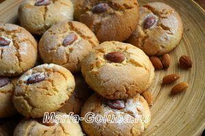 Греческое печенье курабьедес