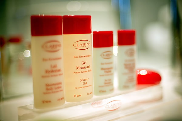 Clarins - hotel toiletries