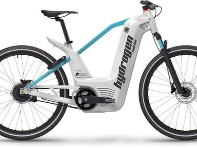 Hydrogen fuel cell e-bike takes 2 minutes to fill and has a 60 mile range