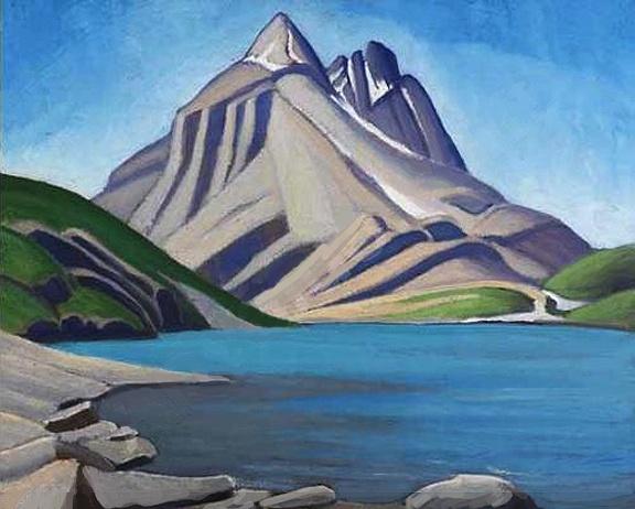 Lawren Harris, Mountain Sketch LXX