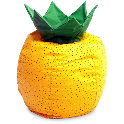 Puff Frutinha Abacaxi Courino Amarelo - Stay Puff - Submarino.com