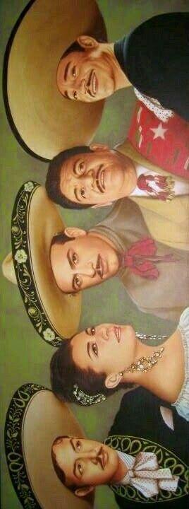 Idolos de la musica Mexicana