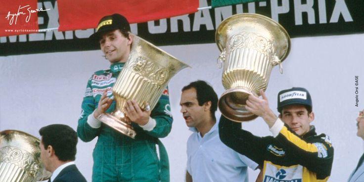 Grande Prêmio do México – 1986   Ayrton Senna