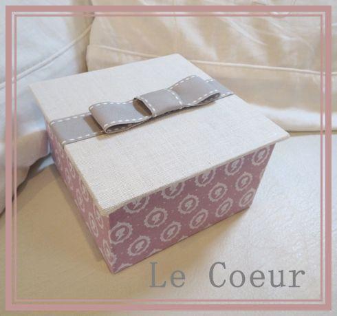 Le Coeur ~カルトナージュ作品と手作り日記~