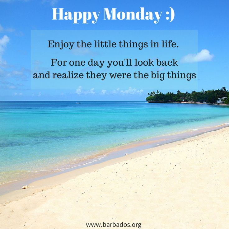 Happy Monday From #Barbados :