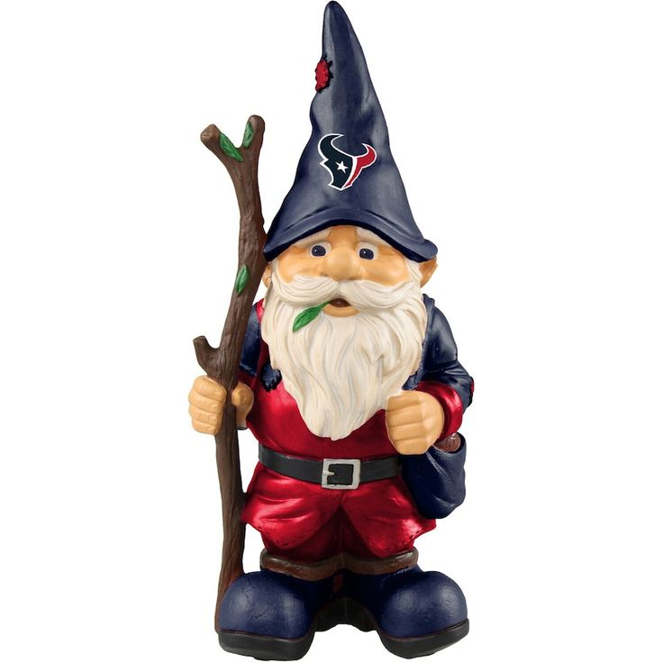 Forever Collectibles Holding Stick Gnome Statue Nfl Team Denver