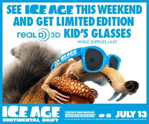 Rave Cinemas :: Ice Age Continental Drift FREE Small Popcorn Coupon  http://www.stockpilingmoms.com/2012/07/rave-cinemas-ice-age-continental-drift-free-small-popcorn-coupon/
