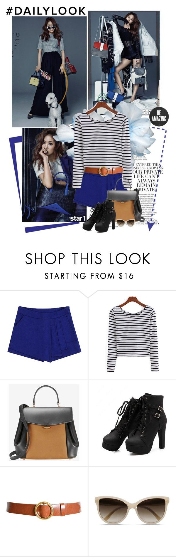 """1132. Soyu"" by oh-pororo ❤ liked on Polyvore featuring Retrò, Nina Ricci, Frame Denim, STELLA McCARTNEY, Dailylook, sistar, soyu, star1magazine and koreamagazineeditorial"