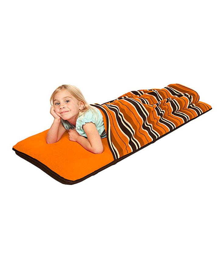 Look at this The Shrunks Orange Stepaire Air Mattress Nap Pad on #zulily today!