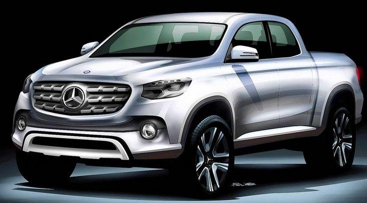 La pick-up de Mercedes tendrá base de Nissan Navara y se fabricará en España - http://www.actualidadmotor.com/pick-up-mercedes-nissan-navara-fabricara-espana/