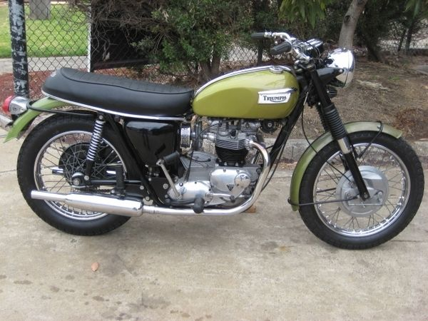 FOR SALE:1970 TRIUMPH 650CC TIGER ROAD for $11,950 Inc GST. Located in Seaford VIC.  Contact  for more details.