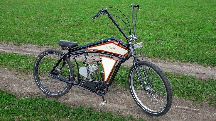 Board tracker (велосипед с мотором) часть 1