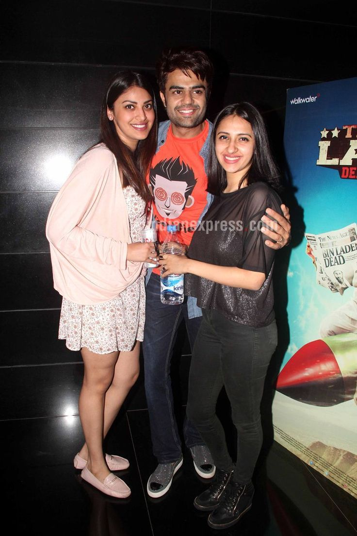 Manish Paul with Anushka Ranjan at 'Tere Bin Laden Dead or Alive' premiere. #Bollywood #Fashion #Style #Beauty #Hot