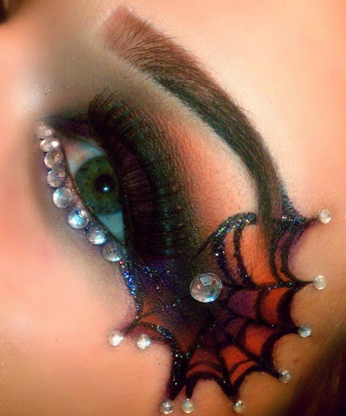 Web eyeshadow