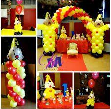 Afbeeldingsresultaat voor bumba ballon decoratie