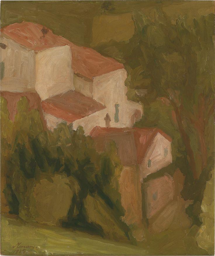 """poboh: """" Paesaggio, Giorgio Morandi. Italian (1890 - 1964) """""""