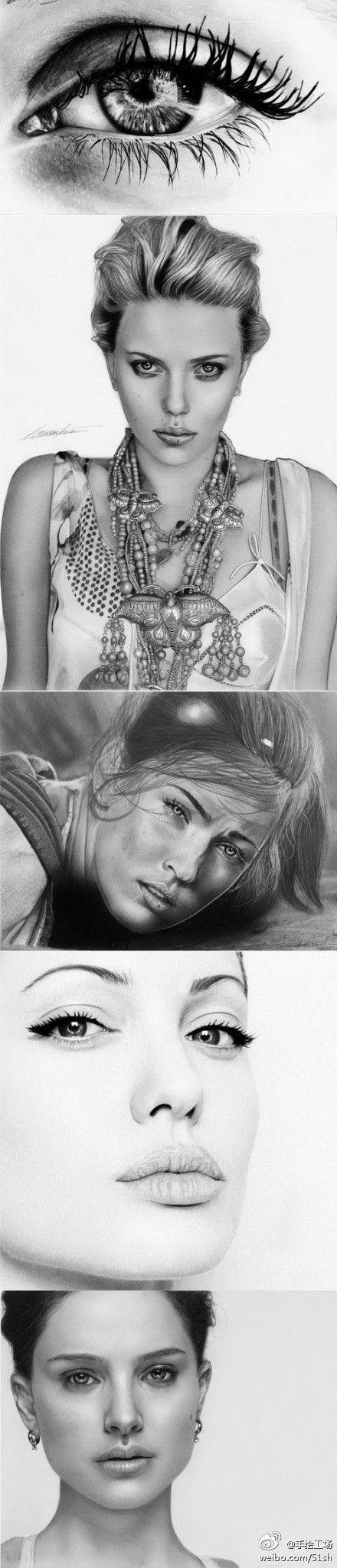 Рисунки карандашом Toni Hariyanto