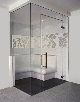 Frameless Glass Steam Rooms Sauna Screens Glasstrends London