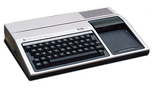 This was the first computer I ever owned (as a kid) way back in 1982. It was a Texas Instruments TI-99/4a
