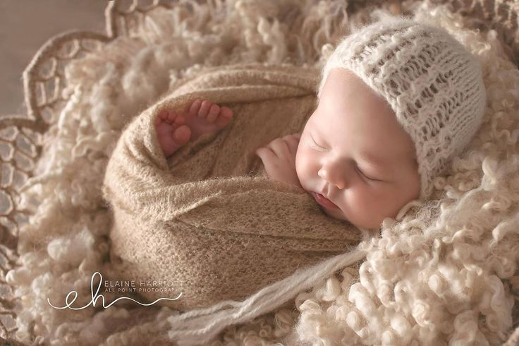 Knitting Pattern, Knit PDF Pattern,  Newborn Hat Pattern, PHOTO shoot prop,  Knit, Tutorial, PDF, Newborn hat, Dream Bonnet by CreamoftheProp on Etsy