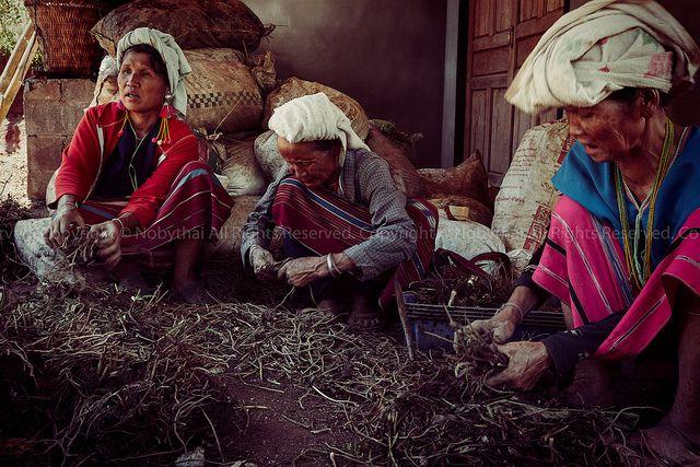 Karen People: Chiangmai, Thailand on Flickr.Via Flickr:  Chom Tong, Chiangmai, Thailand