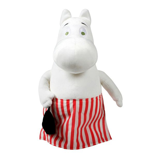 A sweet soft Moominmamma plush-toy, height 25 cm.