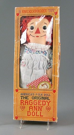 Raggedy Ann - I still have my Raggedy Ann Doll I got in 1980.