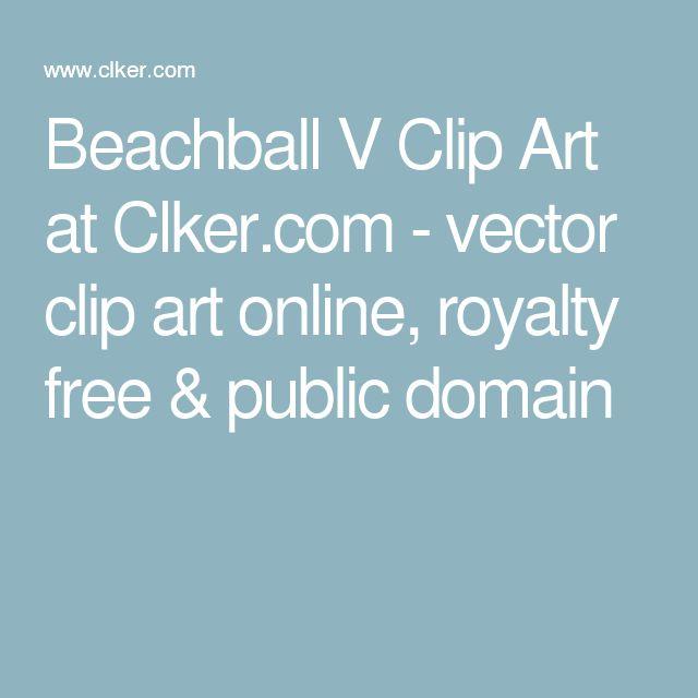 Beachball V Clip Art at Clker.com - vector clip art online, royalty free & public domain