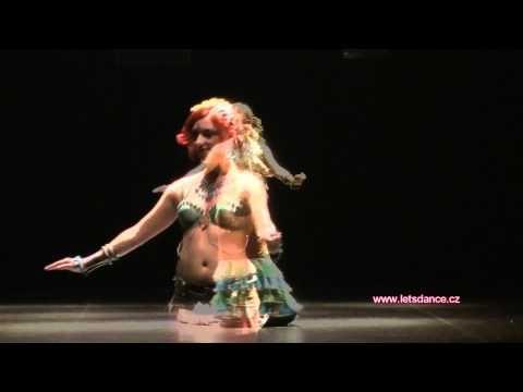▶ Agata Zakrzewska - tribal fusion 2nd place - Let's Dance Festival, Prague, 2012 - YouTube