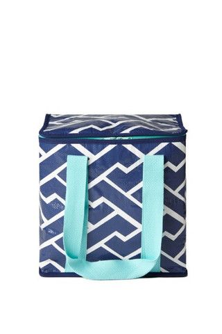Project Ten Blue Brick Path Insulated Tote