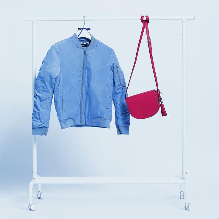 Medicine bomber jacket Ralph Lauren bag