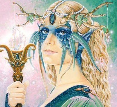 Aine Celtic goddess of love, fertility, summer and summer solstice