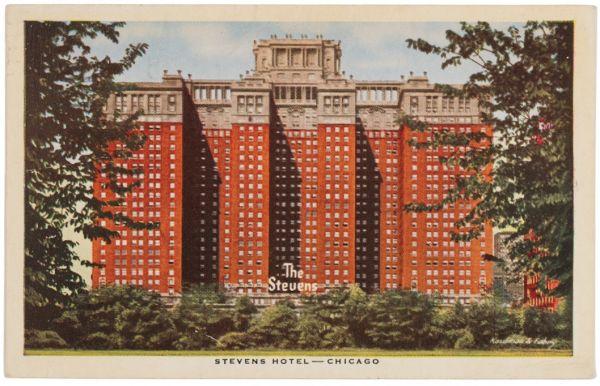 Stevens Hotel, Chicago