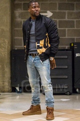 Kevin Hart - Getting ready for his comedy show at the Michigan State University