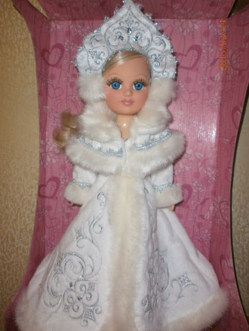 Кукла Анастасия Весна Снегурочка со звуком