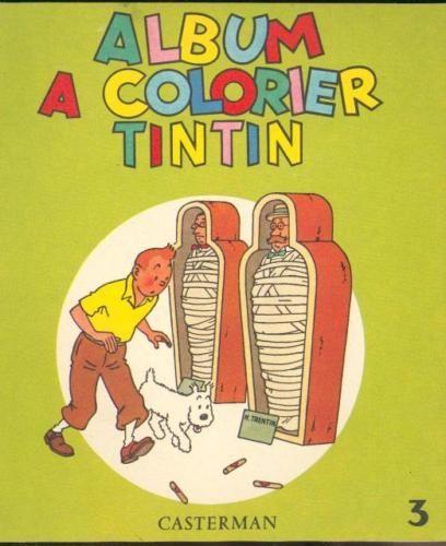 Album A Colorier Tintin 1961