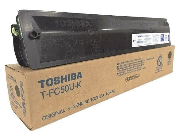 Genuine Toshiba T–FC50U-K (T-FC50UK) Black Toner …