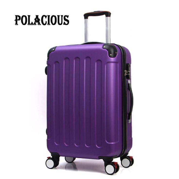 "20""24""28""inch Trolley suitcase luggage rolling spinner wheels Pull Rod – Wallets & Bags"