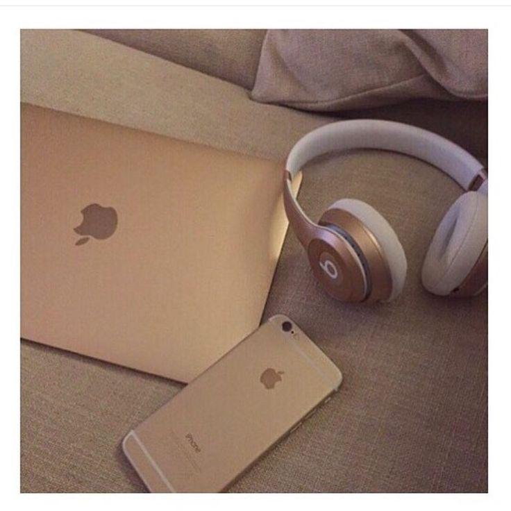 Gold Beats Gold MacBook