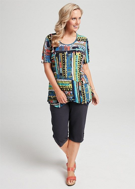 Hand On Your Heart Top #takingshape #plussize #curvy #ts