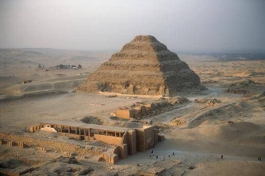If you do not tell the truth about yourself you cannot tell it about other people General view of the Step Pyramid of Djoser in the middle of the pyramid complex of Saqqara