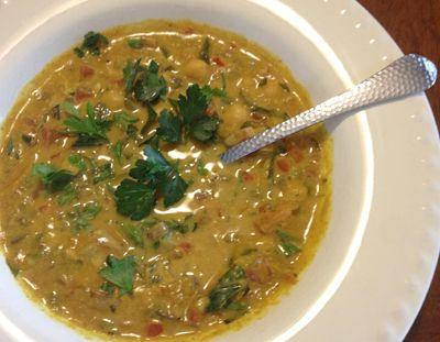 Pita Jungle coconut curry soup recipe