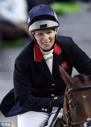 Zara Phillips qualified for 2016 Olympics in Normandy Equestrian Games. She rode her bay gelding High Kingdom, with whom she won Olympic team silver